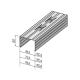 ГКЛ Профиль С-2 50х50мм  3м (Магнитка)(12/360)