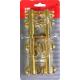Шпингалет АЛЛЮР G-018М (блистер 2шт) золото