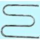 Полотенцесушитель нерж.сталь М-образный 600x600мм,  1