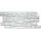 ФАСАД Панель Камень дикий мелованный белый 1.10х0.45м (10)