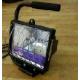 Прожектор галогеновый переносной с подставкой, черный, 500Вт SV-57123-В