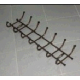 Вешалка настенная 680х215мм 7 крючков ВНТ7 (5)