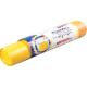 Пакеты 60л для мусора с завязками желтые (рулон 10шт)(25)