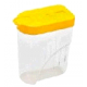 Банка для сыпучих продуктов овальная 1л С252 (Полимербыт)(32)