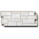 ФАСАД Панель Камень мелованный белый 1.10х0.45м (10)