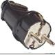 Вилка прямая пластик черная SQ1806-0004  (TDM)(25)