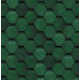 Черепица ЗЕЛЕНАЯ-3619 (уп.-3 кв.м) (45)