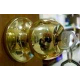 Защелка золото Art-S/Verdi 3087(6072) pbet с фиксатором,с ключом (30)   11