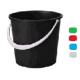 Ведро пластик 10л М2057 (эконом) (Альтернатива) (10)