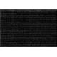 Коврик влаговпитывающий на резиновой основе 600х900 мм черный РТИ