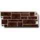 ФАСАД Панель Камень коричневый Натур 1.10х0.45м (10)