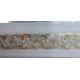 Карниз 2-х рядный Ажур4 55мм (белый)  2.4м (5)