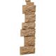 ФАСАД Угол наружный Камень дикий терракотовый (10)