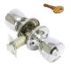 Защелка хром Аллюр-5562 CP ключ + фиксатор  (30)
