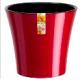 Горшок цв. 1.2л Арте красно-черный (Santino)(36)