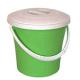 Ведро пластик 10л М374 с крышкой (Альтернатива) (10)