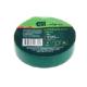 Изолента ПВХ 19 мм х 20м зеленая Сибртех-88797 (5)