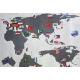 Наклейки для интерьера Карта мира 3202 ВК RDA