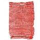 Сетка-мешок с ручками 30х47см красная (поштучно!!!)(100)