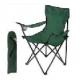 Кресло складное DW-2009H с подлокотниками/подстаканниками (зеленое) арт.993100