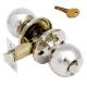 Защелка хром  Аллюр-5560 СР ключ + фиксатор (30)