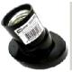Патрон карболитовый настенный, Е27, черный. наклонный SQ0335-0005 (50)