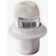 Патрон Е14 с кольцом, термостойкий пластик, белый SQ0335-0010 (50)
