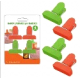 Набор зажимов для пакетов. 4 шт. NEW, 75.80 (МультиДом)