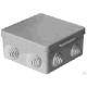 Распаячная коробка ОП 100х100х55мм, крышка, IP54,8вх. TDM SQ1401-0113