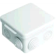 Распаячная коробка с крышкой 80х80х50мм, IP54, 7 входов TDM SQ1401-0112