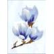 Плитка декор Агата D голубая люкс 25x35см (ВКЗ) (15)