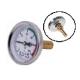 Термометр биметаллический до 120гр. (осевой)