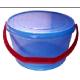 Контейнер 12л круглый  с герметичной крышкой (Бриг)(10)