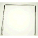 Карниз для ванной угловой 90х90х90см хром (с кольцами)(10)