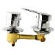 Смеситель для душ кабины арт.2121025001  100мм