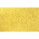 Коврик для ванной 50х80см Макароны желтый