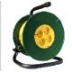 Удлинитель на катушке 20м 4 гнезда 2200Вт,без заземления (Союз)
