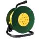 Удлинитель на катушке 30м 4 гнезда 3700Вт,с заземлением (UNIVERSAL)/(Союз)