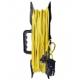 Удлинитель-шнур на рамке 50м 1 гнездо 1300Вт (Союз)(10)