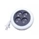 Удлинитель-рулетка 5.0м 4 гнезда,без заземления (UNIVERSAL) (10)