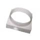 Переходник вентиляционный на вытяжку д.90х100 (белый) арт.09КВ