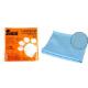 Салфетка из микрофибры для стекла М-05 30х30см (310211)(Рыжий кот)(40)