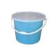 Ведро пластик 5л №2 с плотной крышкой (Бриг)(20)