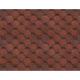 Черепица КРАСНАЯ-3338 (уп-3м2) (45)