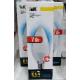 Лампа светодиодная Е14 7Вт белый свет матовая свеча (10)