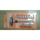 Отвертка с Т-образной ручкой с битами и торцевыми головками № 21 в 1 SQ1019-0203 (TDM)