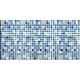 Фартук/панель ПВХ Мозаика Атлантида 955х480мм (10)
