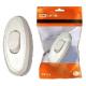 Выключатель на шнур Белый  SQ1806-0021 (TDM) (80)