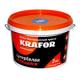 Краска Вд  акриловая глубокоматов.моющаяся 6,5кг (KRAFOR) (красная)
