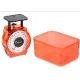 Весы кухонные механические HOMESTAR HS-3004М, 1 кг, цвет красный арт.002795